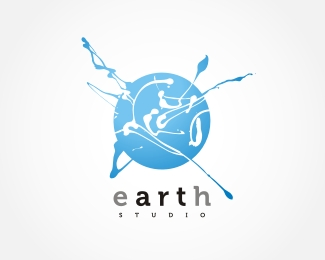 45ba59c48468ba421eed89c8db7b0556 Beautiful logo designs about the four elements Earth, Water, Air and Fire
