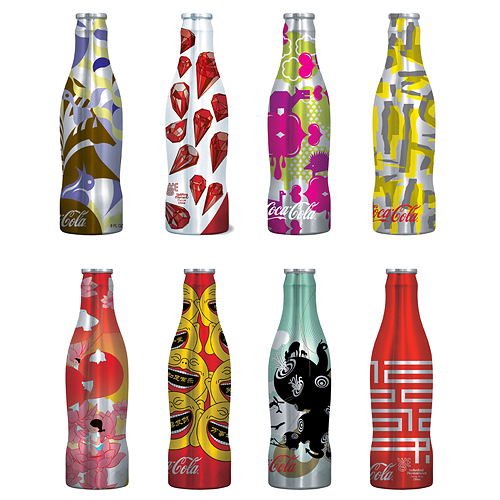6a00d8345250f069e2010536e818bc970b 550wi2 Thirsty? View these cool designed (Coca Cola) Coke Cans