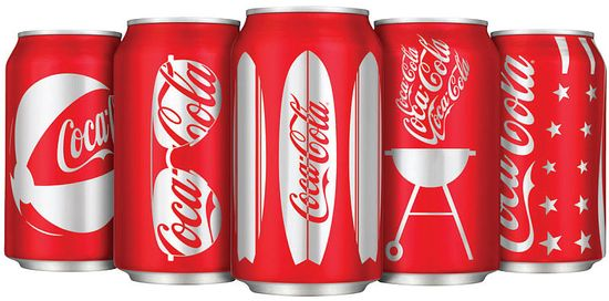 6a00d8345250f069e20115706e7587970b 550wi2 Thirsty? View these cool designed (Coca Cola) Coke Cans