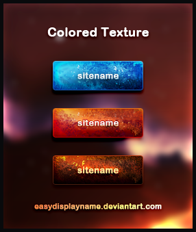 Colored Texture by easydisplayname Best of Free Clean PSD Buttons ready for web2.0