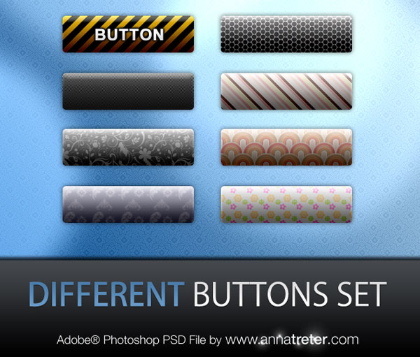 Different Buttons Set Best of Free Clean PSD Buttons ready for web2.0
