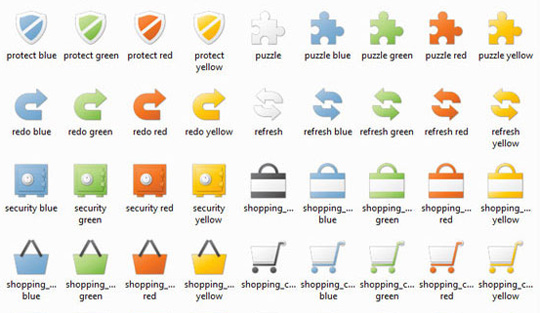 Siena The Best High Quality Ecommerce Icons of the Web
