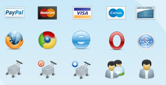 Weby Icons The Best High Quality Ecommerce Icons of the Web