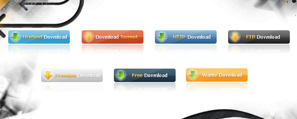 download buttons Best of Free Clean PSD Buttons ready for web2.0