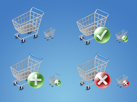 ecommerce shopping cart The Best High Quality Ecommerce Icons of the Web