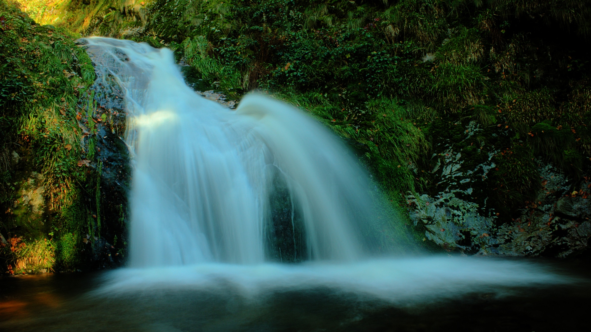 waterfall 1920x1080 HDTV Amazing Landscape Photographies of Sven Müller