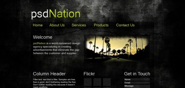 psdnation e1271671598824 Photoshop, Webdesign & Wordpress. What you shouldnt have missed this week!