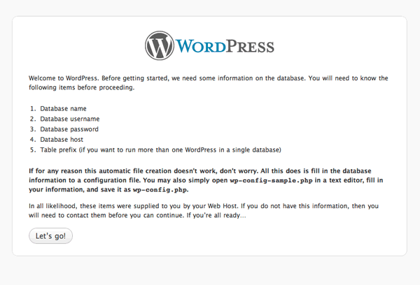 wordpress install guide How to install Wordpress, configure it and secure it