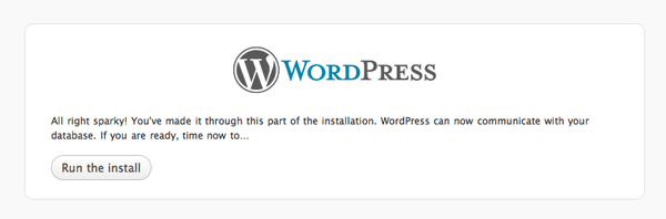 wordpress run install How to install Wordpress, configure it and secure it