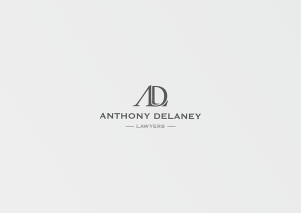Anthony Delaney Lawyers a 7 excellent examples of Corporate & Brand Identity for Law Firms