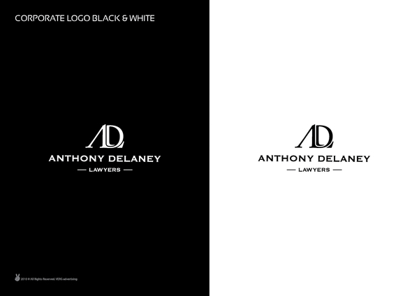 Anthony Delaney Lawyers d 7 excellent examples of Corporate & Brand Identity for Law Firms