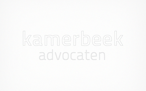Kamerbeek Advocaten a 7 excellent examples of Corporate & Brand Identity for Law Firms