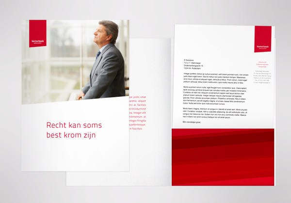 Kamerbeek Advocaten d 7 excellent examples of Corporate & Brand Identity for Law Firms