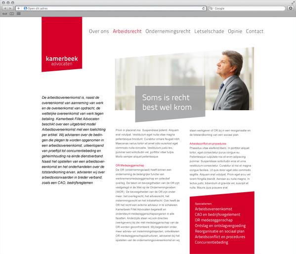 Kamerbeek Advocaten f 7 excellent examples of Corporate & Brand Identity for Law Firms