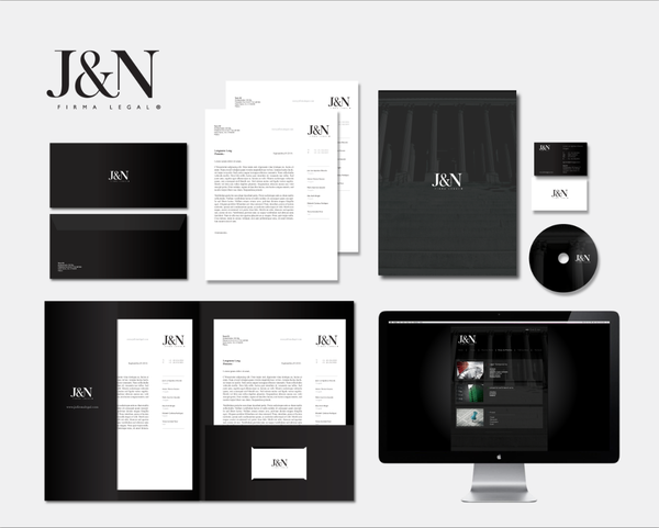 j and n 1 7 excellent examples of Corporate & Brand Identity for Law Firms